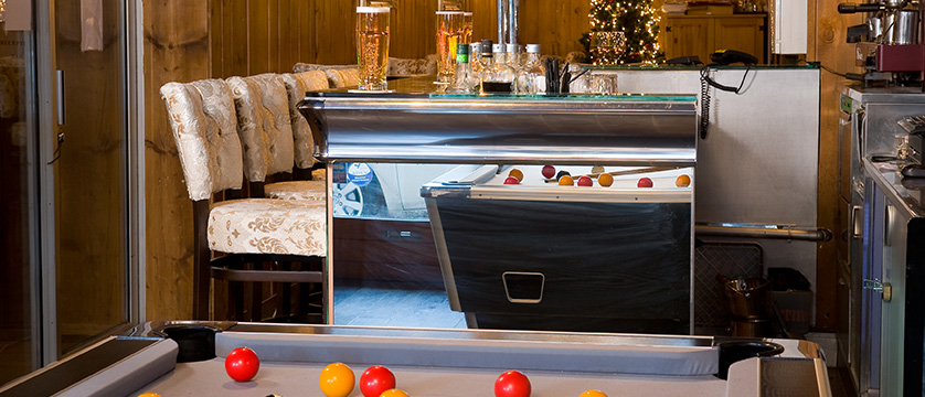 Hotel Olympic Billiards Bar